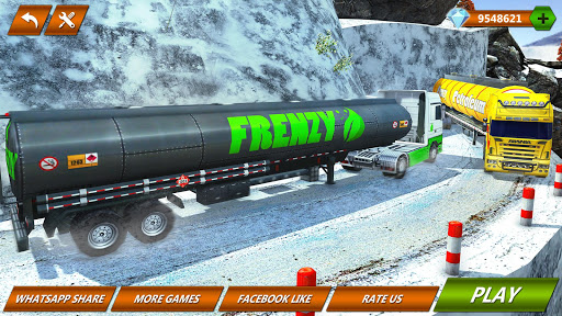 Offroad Oil Tanker Truck Transport Driver 1.6 screenshots 7