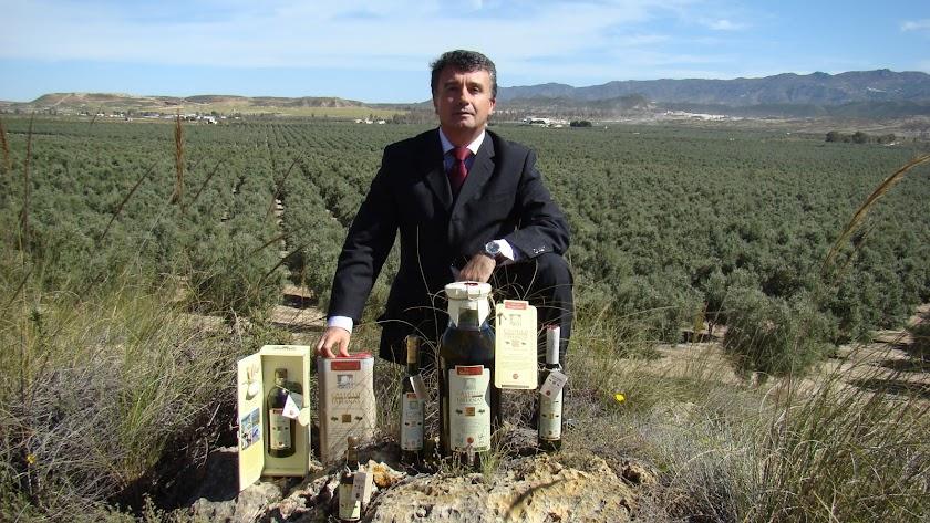 Rafael Úbeda, presidente de Castillo de Tabernas