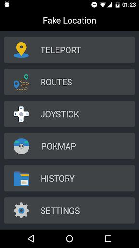 Fake GPS Location Pro 1.0.9.1 screenshots 2