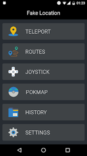Fake GPS Location, Routes, Joystick, Pokmap - náhled
