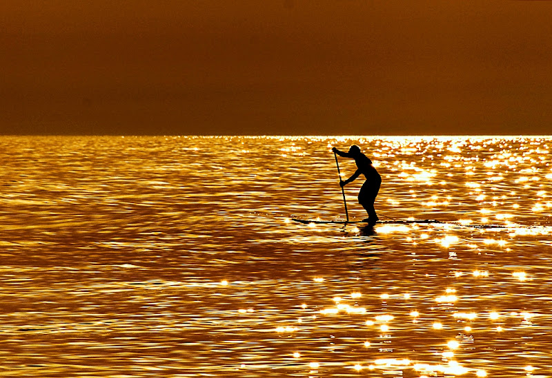 pagaia al tramonto di miyomo