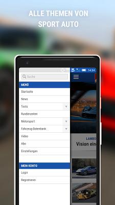 sport auto - screenshot