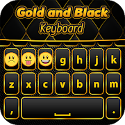 الذهب الأسود لوحة المفاتيح APK