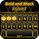 Gold and Black Keyboard (app)