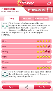 Free Horoscope- screenshot thumbnail