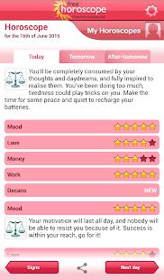 Free Horoscope - screenshot thumbnail