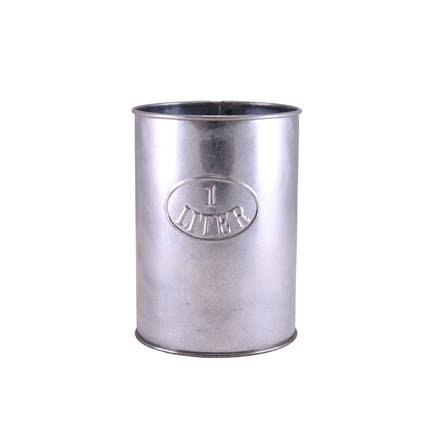 1 L mått i zink från Strömshaga