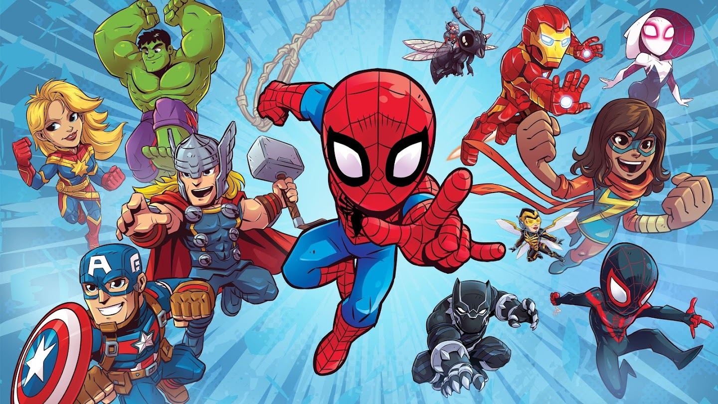 Watch Marvel Super Hero Adventures live