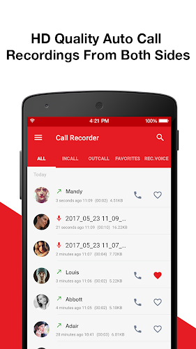 Call Recorder - Automatic Call Recorder Android App Screenshot