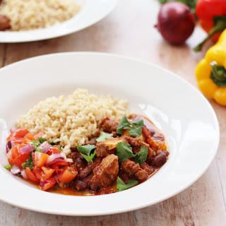 Spicy Mexican Lamb Stew.