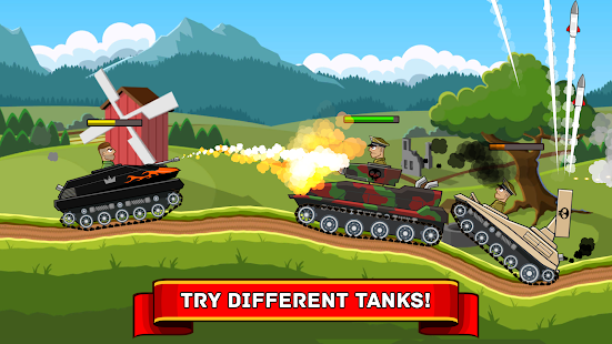 Hills of Steel v2.0.3 APK (Mod Money) Full