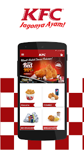 Kfc Indonesia Home Delivery Screenshot Thumbnail