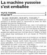 Photo: 02-10-2011 N3M Pfastatt - Yutz-Thionville 0-3