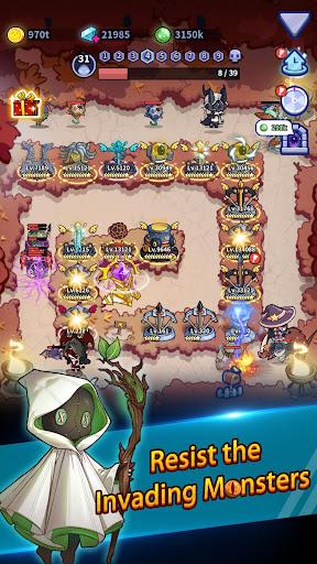 Code Triche Idle Defense: Dark Forest apk mod screenshots 2