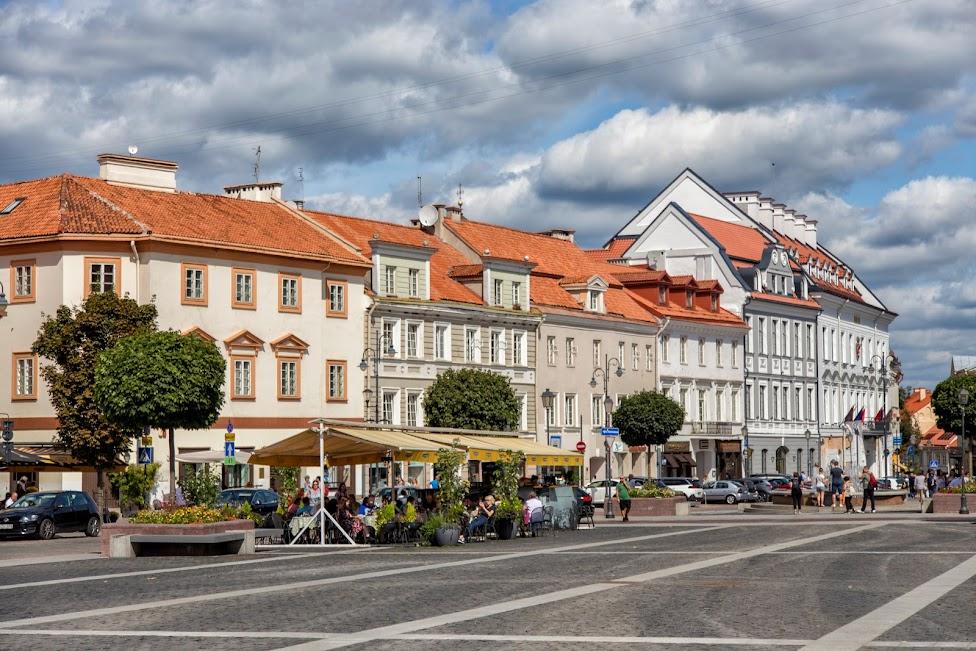Ratusz i plac ratuszowy w Wilnie
