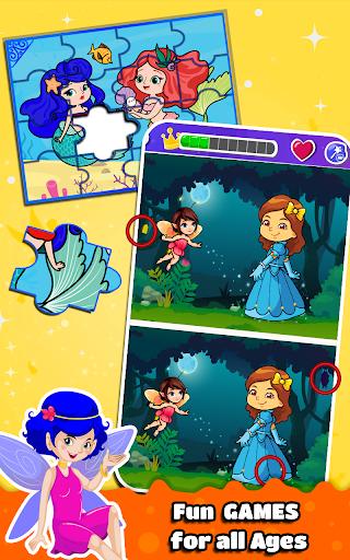 Princess Coloring Book for Kids & Girls Games ud83cudfa8 screenshots 16