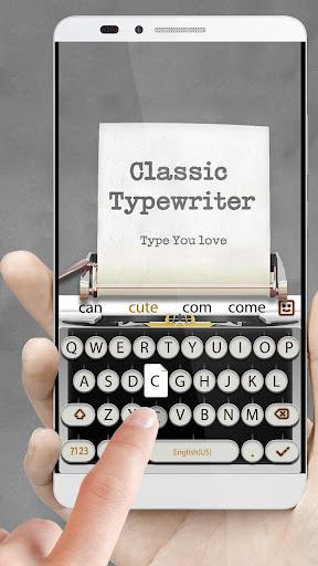 Download 3D Classical Typewriter-Keyboard Music & GIF Emoji