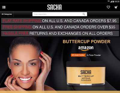 Sacha Cosmetics - náhled