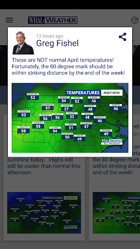 WRAL Weather  screenshots 4
