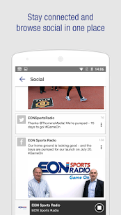 EON Sports Radio- screenshot thumbnail