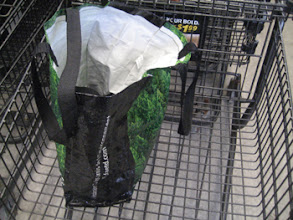 Photo: Phew! I remembered my reusable grocery bags this time!