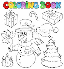 Photo: 400-05686851© clairevModel Release: NoProperty Release: NoColoring book Christmas topic 2 - vector illustration.