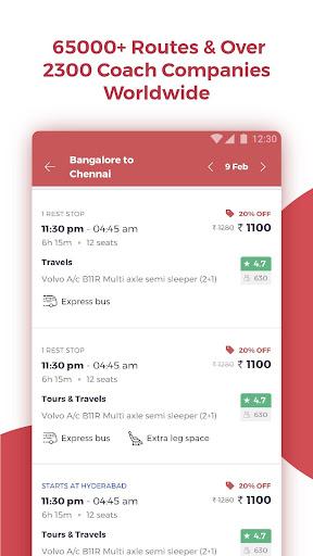 redBus - Online Bus Ticket Booking screenshot 2