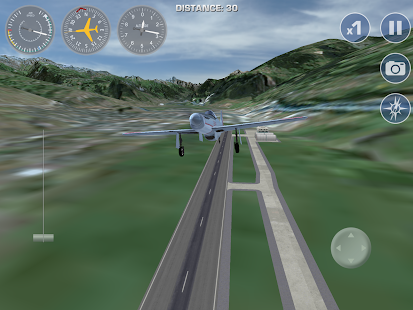 Airplane Fly the Swiss Alps- screenshot thumbnail