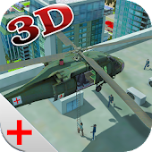 Army Ambulance Helicopter Sim