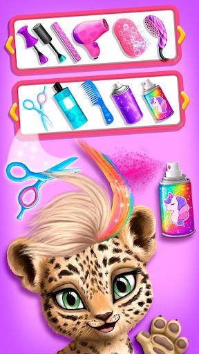 Jungle Animal Hair Salon - Wild Style Makeovers screenshots 3