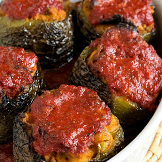 Nanny's Italian Stuffed Peppers