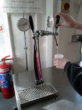 Photo: It's water from a beer tap. Yeah.