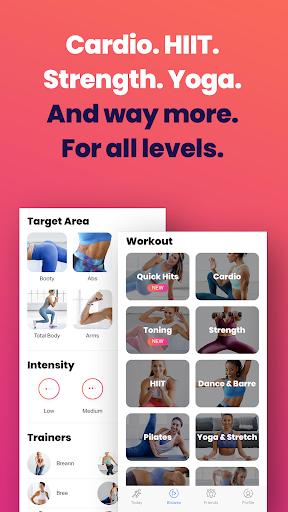 FitOn - Free Fitness Workouts & Personalized Plans 2.3 screenshots 3