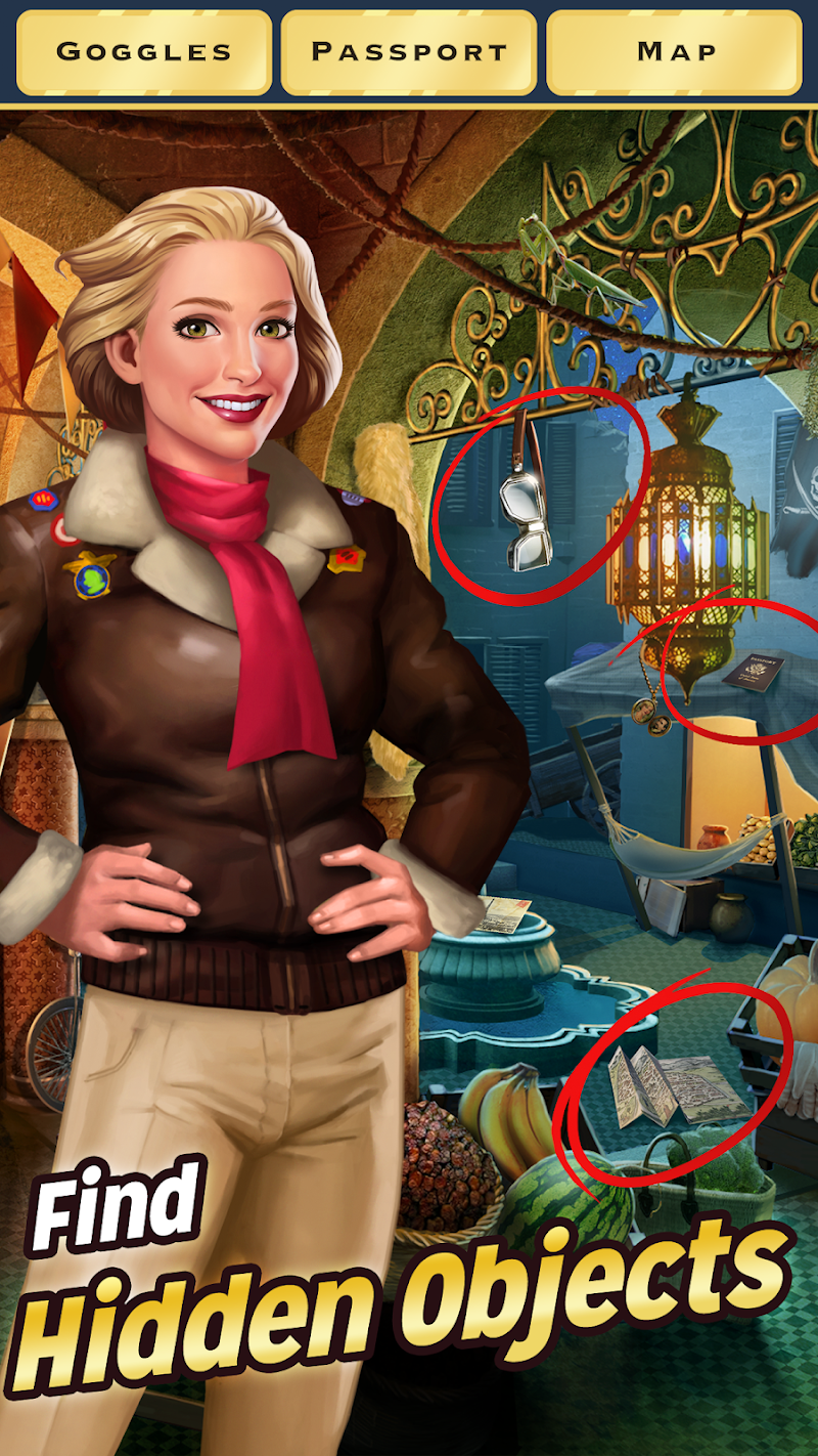 Free Download Pearl's Peril - Hidden Object Game Cheat APK MOD