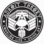 Logo of Adroit Theory Two Headed Calf