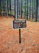 Photo: Papoose Pass!
