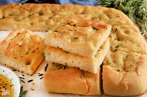 Gluten-Free Focaccia {Dairy-Free, Vegan}