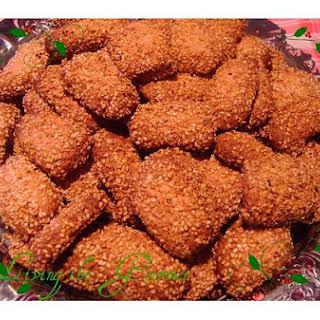 Sicilian Sesame Cookies.