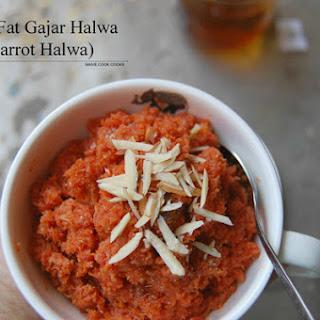 Healthy Gajar Halwa.