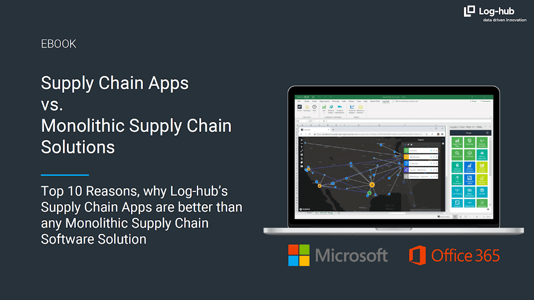 Log-hub Supply Chain Apps vs. Monolithic Supply Chain Solutions, Ebook