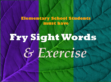 Elementary Words and Exercises