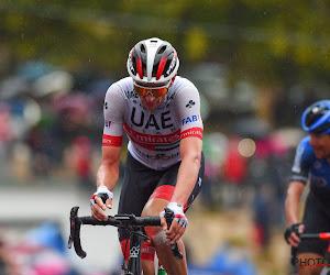 """Amerikaan van UAE na sterke Girostart nu een mooie tweede plaats: """"Al ongelooflijk, wist dat ik dicht bij Sagan zat"""""""