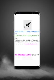 Cheats for GTA 6 - náhled
