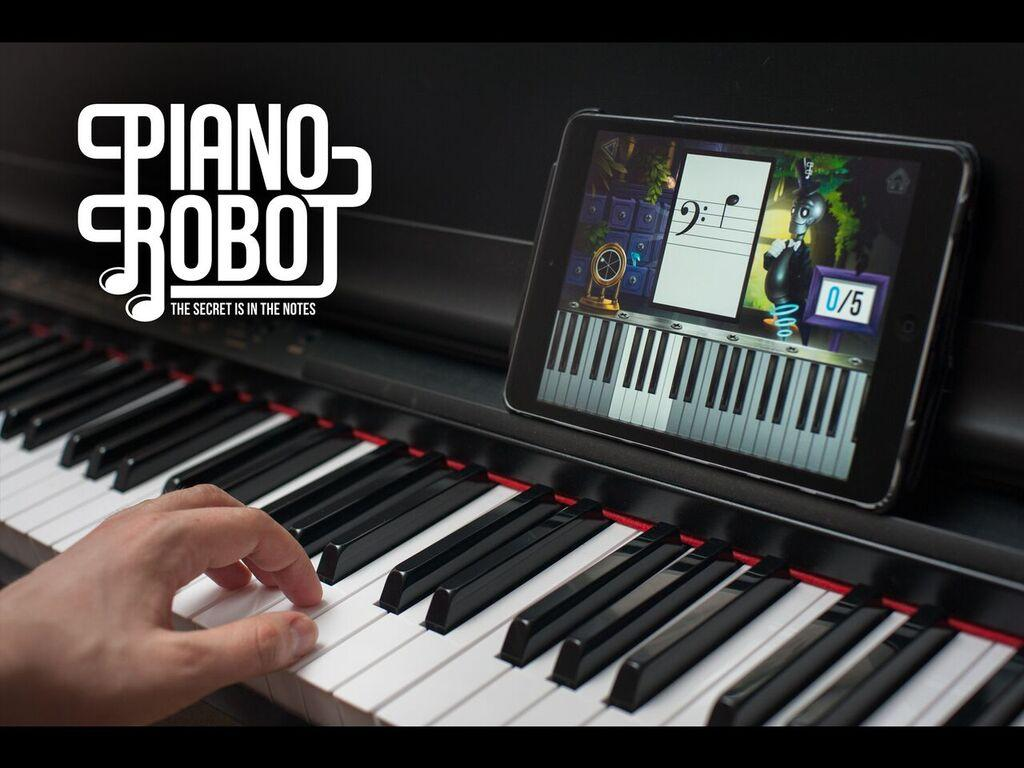 Pianorobot- screenshot