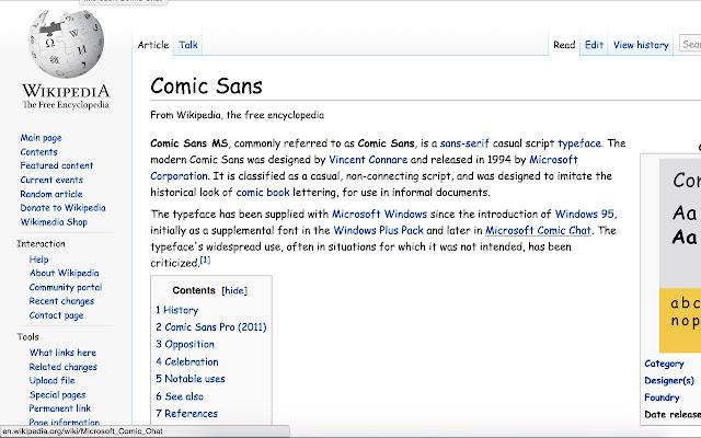 Comic-Sansify