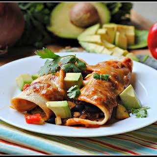 Veggie Enchiladas.