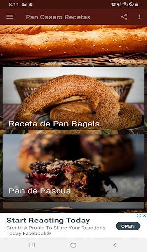 Pan Casero Recetas 1.0 screenshots 2