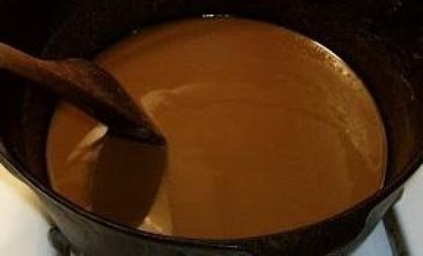 First make your dark roux using 1/2 cup butter and 1/2 cup flour. The...