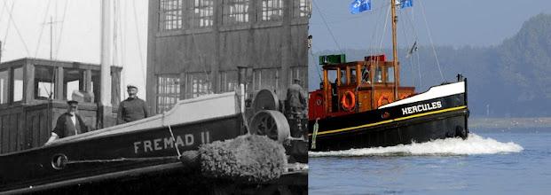 Photo: Vroeger en nu