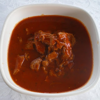 Hot and Spicy Veal Sauce for Pasta.